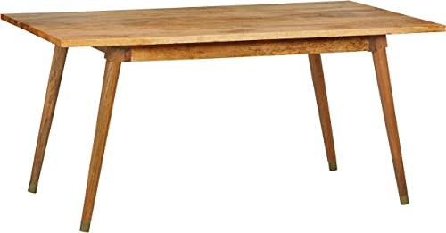 Amazon Brand Rivet Clio Solid Mango Dining Table