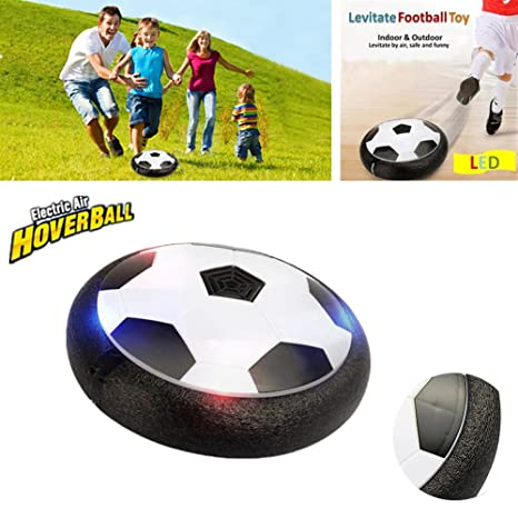 Air Football Aire Fu?Ball Air Power Soccer Disk centtechi Hover ...