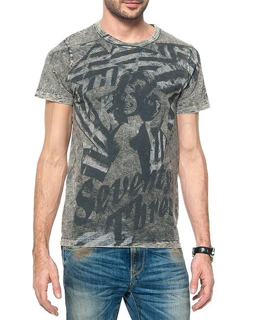 608d7ac23ace Pepe Jeans Maglietta da Uomo Skank - Grigio