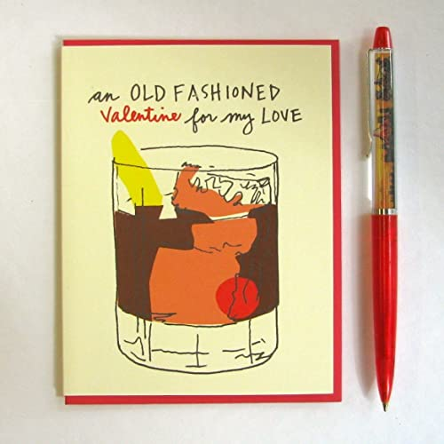 Amazon Com Old Fashioned Valentine S Card Handmade