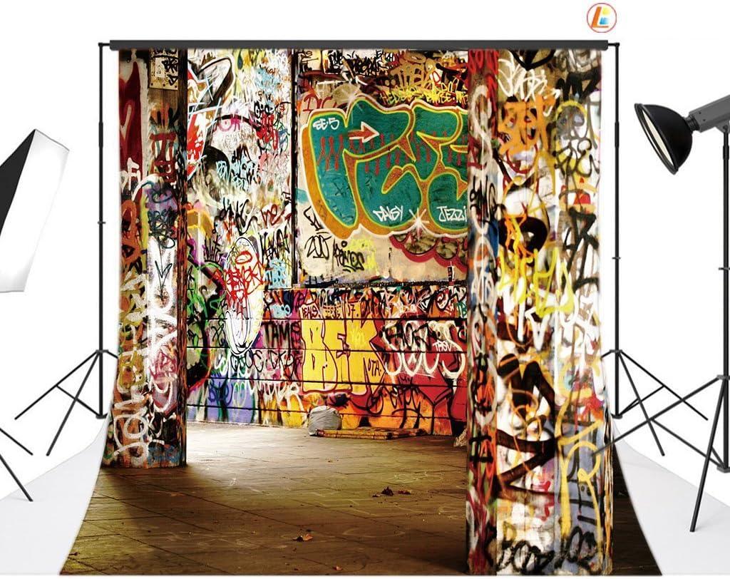 6x6FT Vinyl Photography Backdrop,Retro,Abstract Geometric Art Photoshoot Props Photo Background Studio Prop