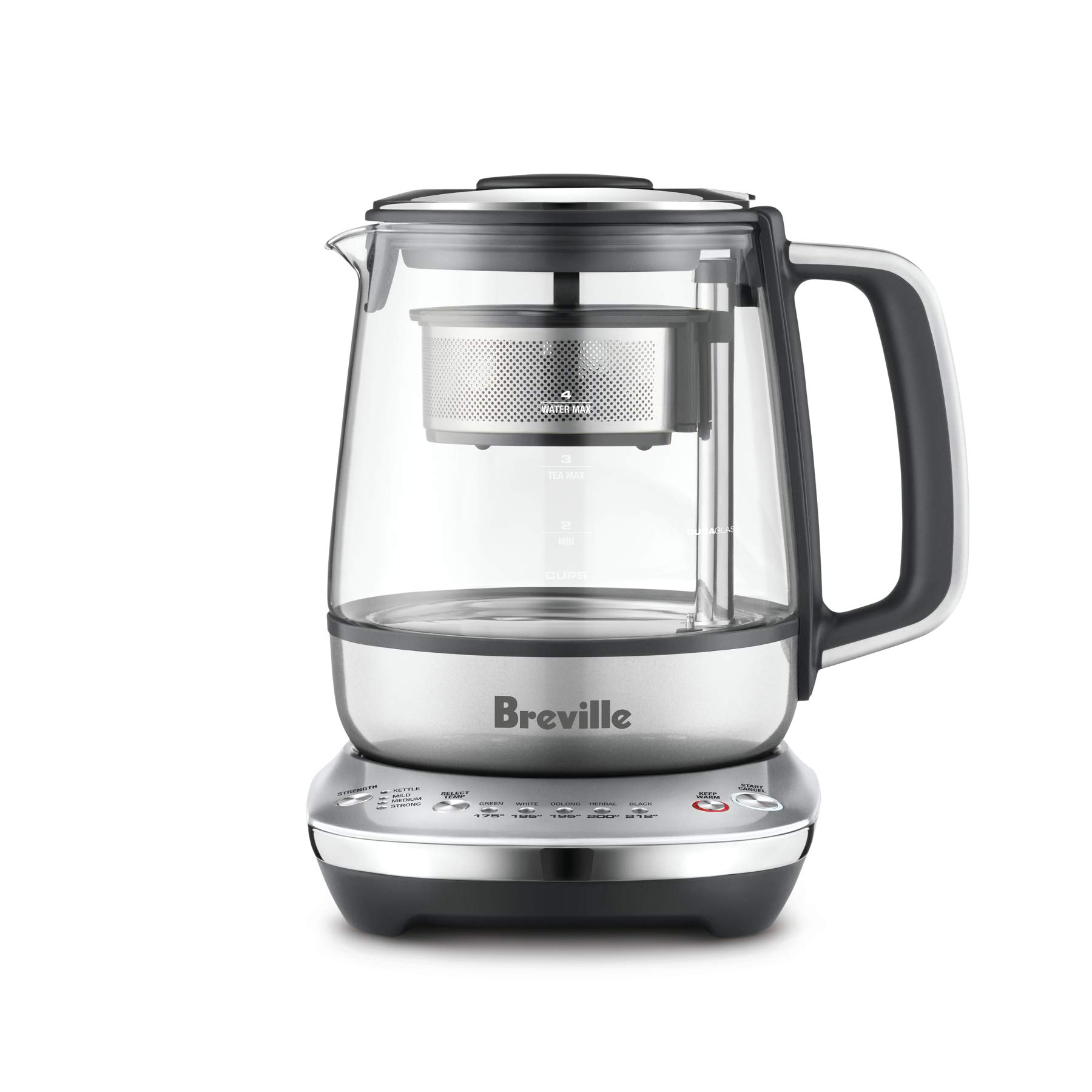 Breville Maker967 Tea Maker, 11.8 x 10.2 x 7.8 inches, Silver by Breville
