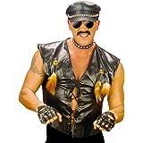 Motard rocker veste déguisement veste de rocker déguisement de motard costume de rocker Village People Rudi veste de motard Mardi Gras L 50/52