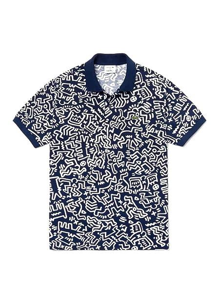 Lacoste Polo Keith Haring Azul Hombre 6 Marino: Amazon.es: Ropa y ...