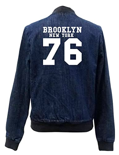 Brooklyn New York 76 Bomber Chaqueta Girls Jeans Certified Freak