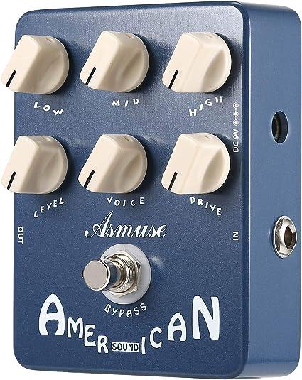 Asmuse American Sound Effect Pedal Simulador de amplificador Pedal ...
