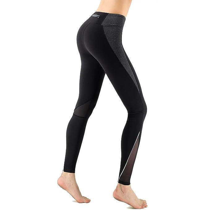 30196dff986 Zenwow Women High-Waist Gym Sport Leggings