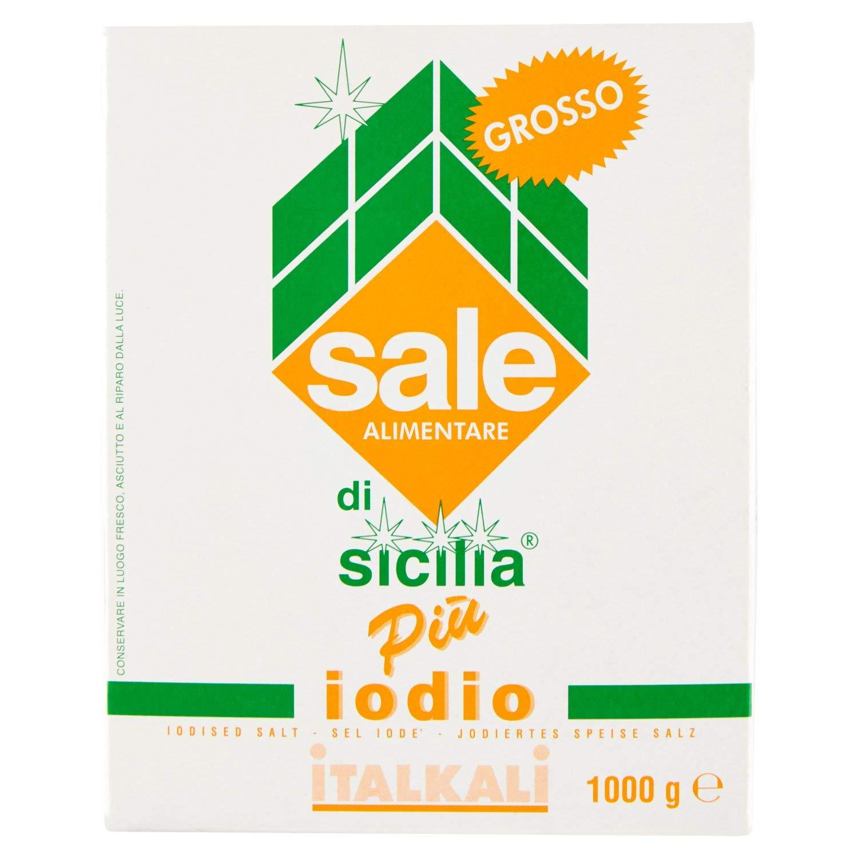 Sale di Sicilia Pi� Iodio Grosso - 1000 gr
