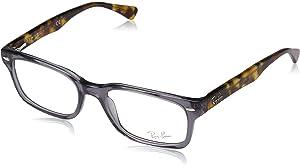 3ecd068f51a3d Ray-Ban Women s 0rx5286 No Polarization Square Prescription Eyewear Frame