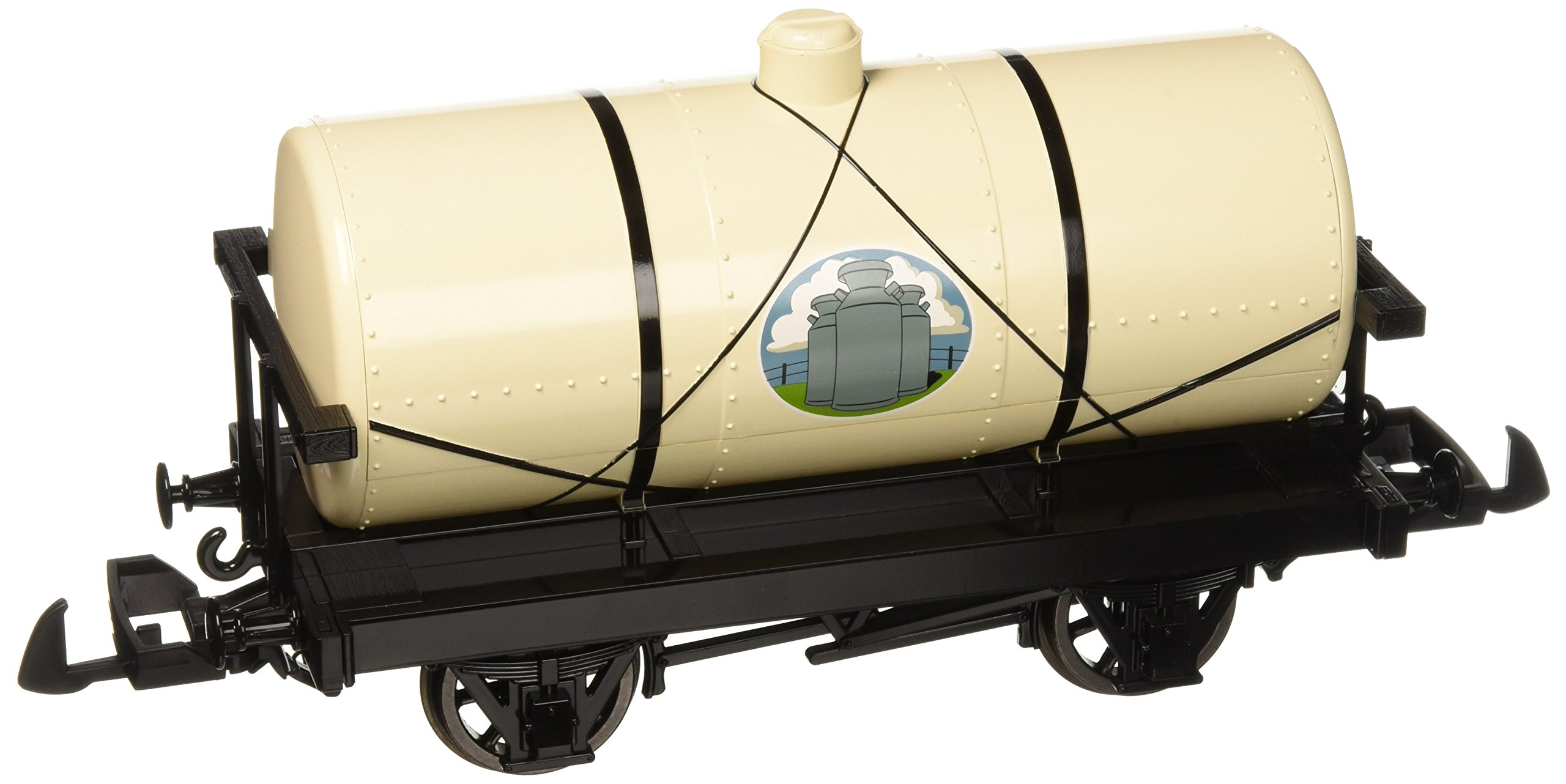 Bachmann Industries Thomas & Friends - Cream Tanker - Large ''G'' Scale Rolling Stock Train