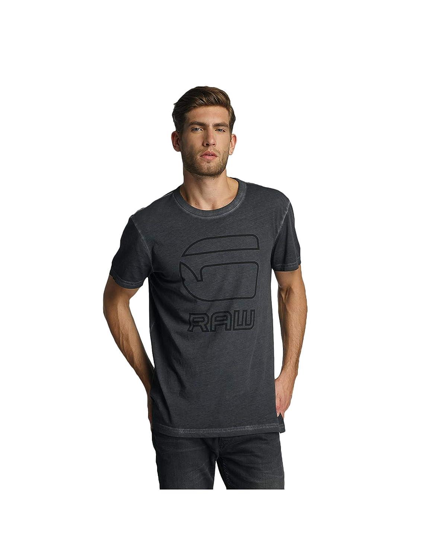 TALLA M. G-STAR RAW Nact R T S/S, Camiseta para Hombre