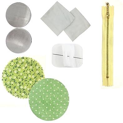 Wrapables Monedero Hecho a Mano DIY de Macarons, luz Verde ...