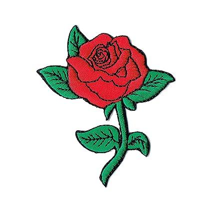 vans con la rosa rossa