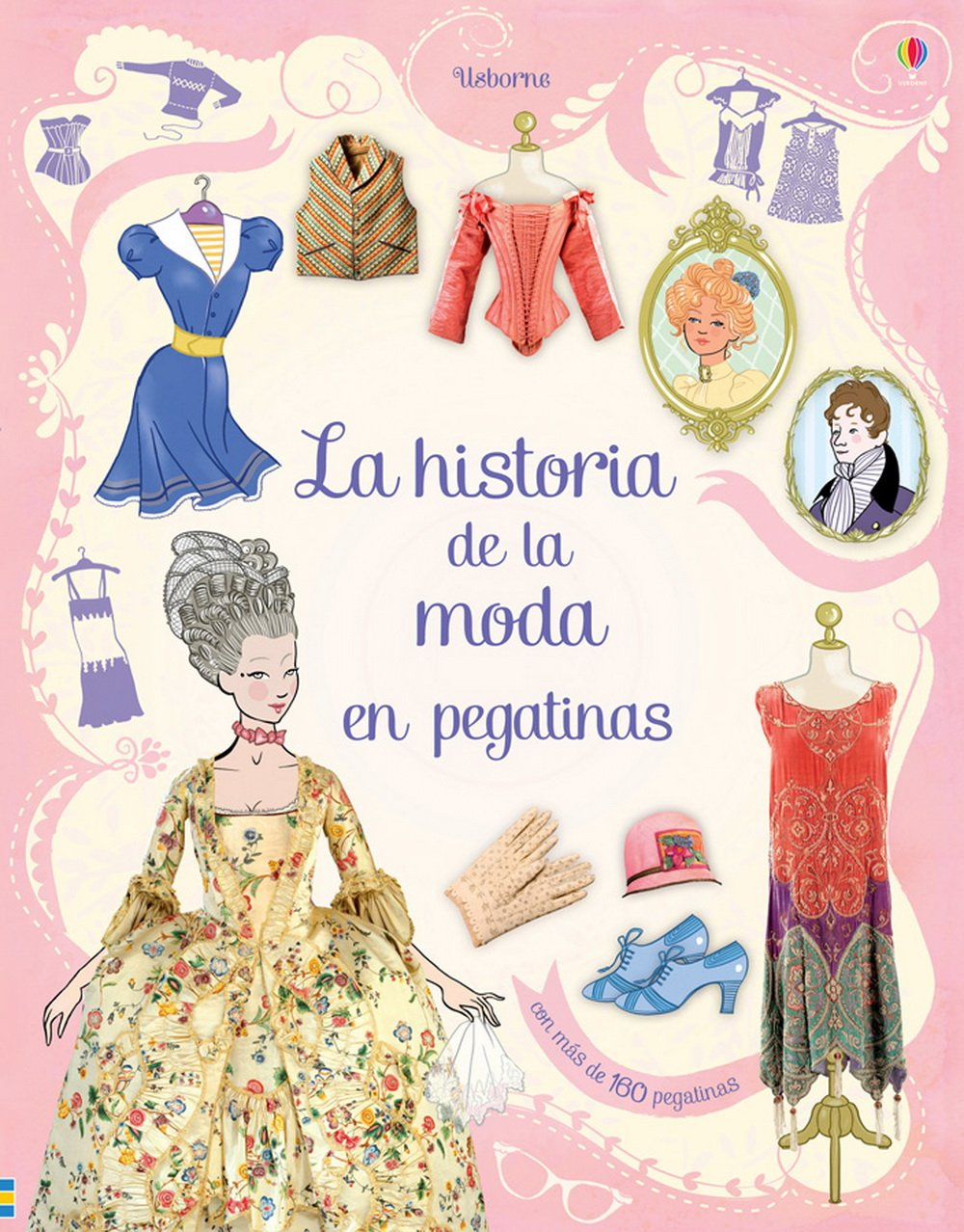 La historia de la moda en pegatinas: Ruth ; Lardot, Christophe, (il.) Brocklehurst: 9781409543565: Amazon.com: Books
