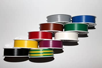 10 Rollen Coroplast Isolierband VDE Elektriker Klebeband 15mm x 10m grau