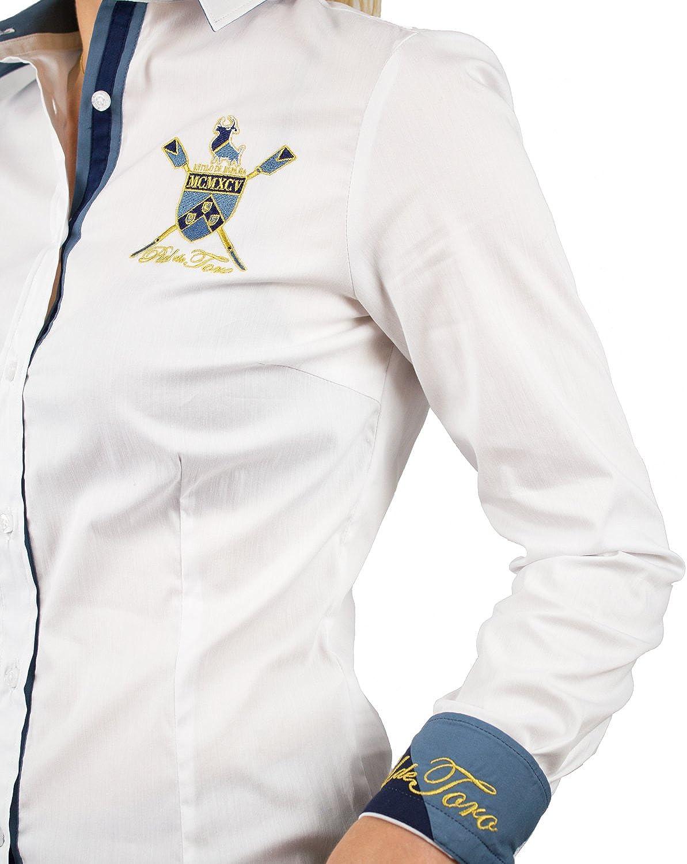 Piel de Toro 42142526 Camisa, Blanco (Blanco 13), X-Small (Tamaño del Fabricante:XS) para Mujer: Amazon.es: Ropa y accesorios