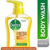 Dettol Fresh Anti-Bacterial Body Wash 500ml