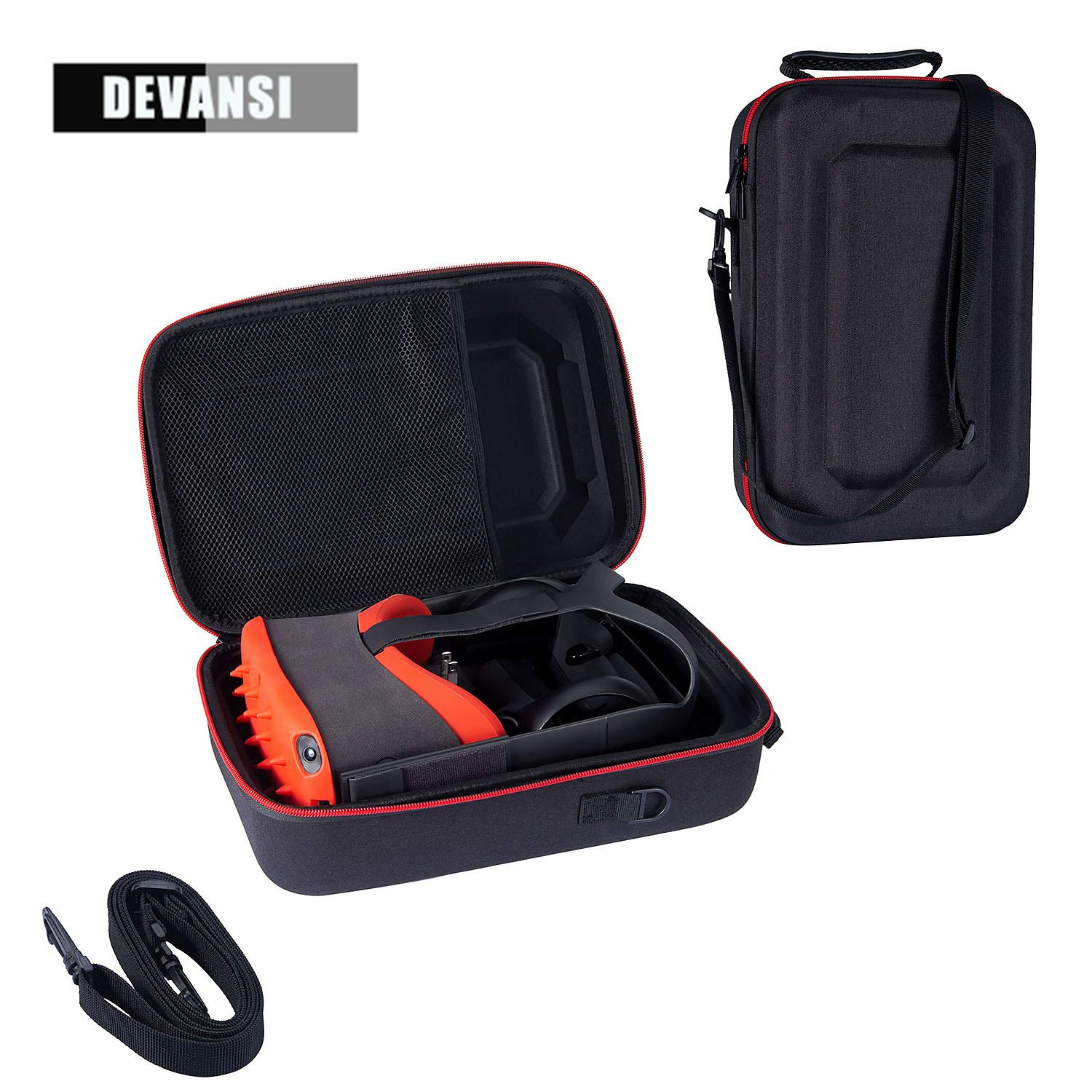 Devansi Pratical Travel Case for Oculus Quest VR Gaming Headset and Controllers Accessories Durable Carrying Bag with…
