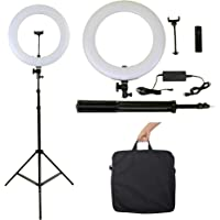 Kit Maquiadora Pro, Ring Light Led Profissional + Tripé 2 M