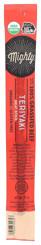 Mighty Organic, Organic 100% Grassfed Teriyaki Beef Stick - 0.75 oz