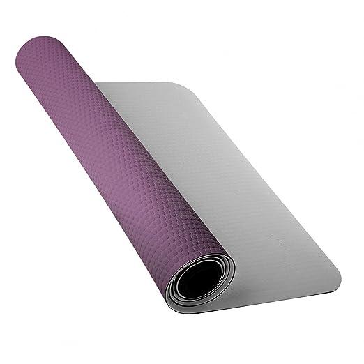 45f904211daa Amazon.com   Nike 3mm Yoga Mat (One Size) (Medium Gray Dark Plum ...