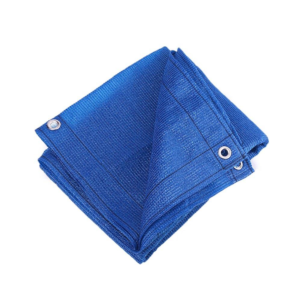 LQQFF Sonnenschutznetz, 8-Pin-Verschlüsselung Balkon Garten Blaume grün Pflanze UV-Schutz Isolierung Mesh Polyethylen, blau Tragbarer Sonnenschirm