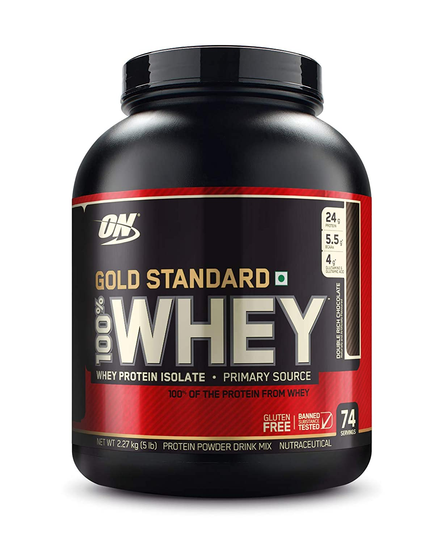 Optimum Nutrition (ON) Gold Standard 100% Whey Protein Powder - 5