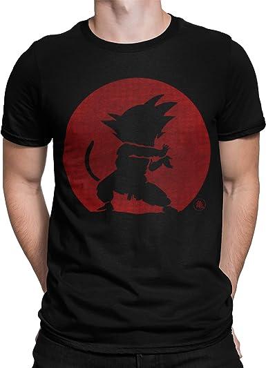 Camisetas La Colmena 2201-Camiseta Kame Hame Ha - Dragon Ball - Goku (Melonseta): Amazon.es: Ropa y accesorios