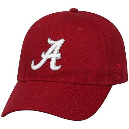 0b5b123bc6c Amazon.com   Elite Fan Shop Alabama Crimson Tide Fitted Hat Crimson ...