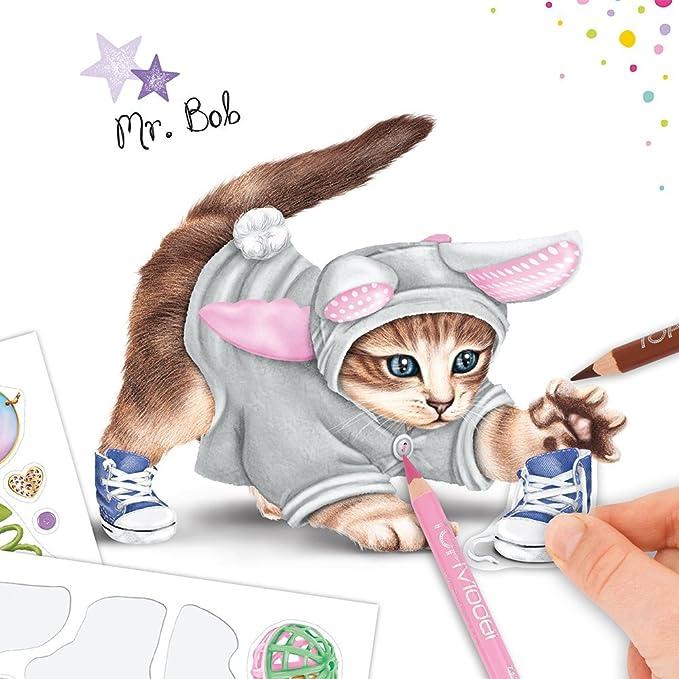 Top Model 046671 - Libro para colorear gatitos.: Amazon.es: Juguetes ...