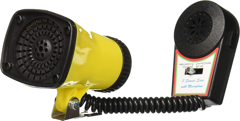 Police Fire Engine Kids Bike Bicycle Alarm Siren handlebar Microphone Speaker
