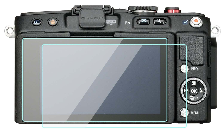 2 unidades Olympus E-PL6 Protector de pantalla de cristal templado ...
