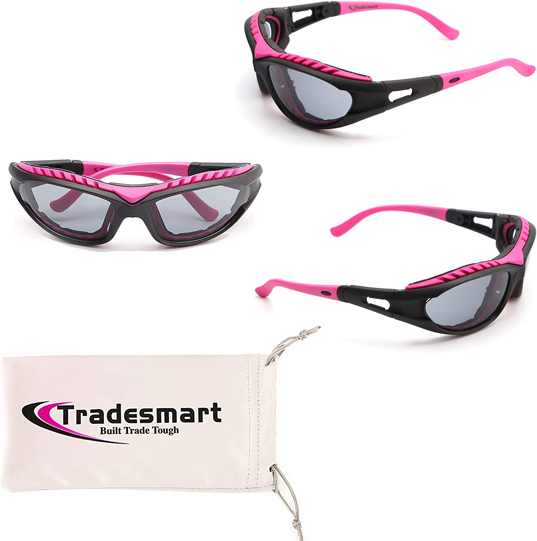 TRADESMART Shooting Range Earmuffs and 2X Safety Glasses – Gun Range Protection : Clothing