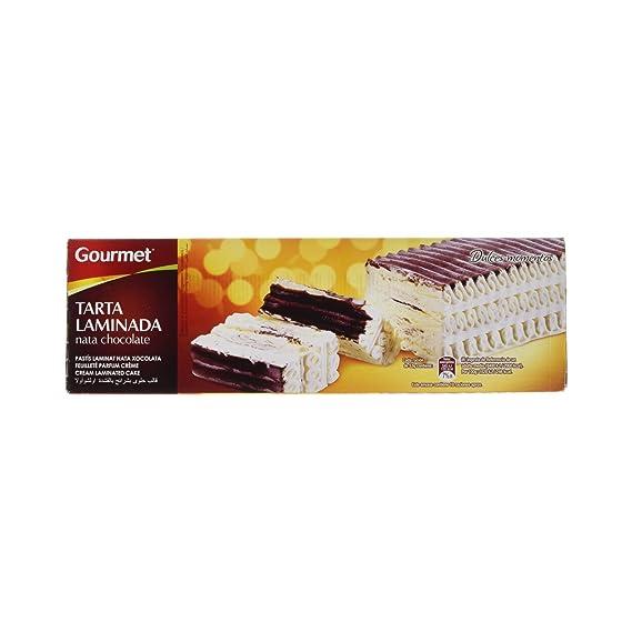Gourmet - Tarta Laminada - Helado Nata y Chocolate - 525 g