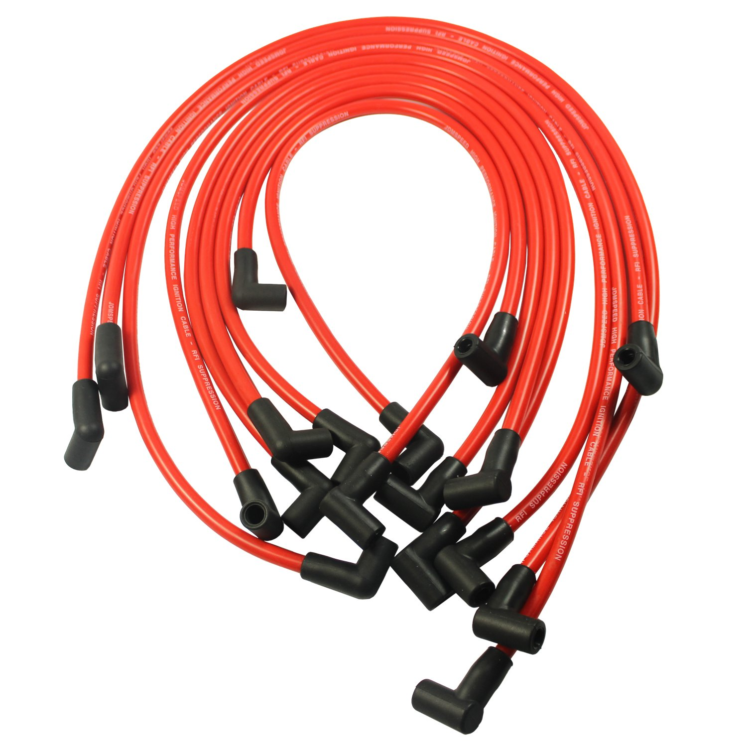 Jdmspeed New 105mm High Performance Spark Plug Wire Set 1993 Jeep Wrangler Distributor Wiring Hei Sbc Bbc 350 383 454 Electronic Automotive