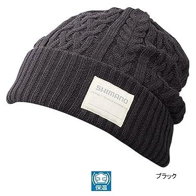 Shimano Knit Watch Hat - Black  Amazon.co.uk  Clothing ae6b62fdd8e8