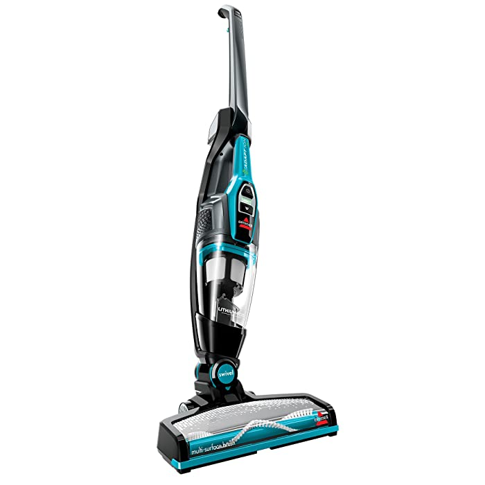 BISSELL Adapt Ion Pet 10.8V Lithium Ion 2 in 1 Cordless Stick Vacuum, Teal, 2286A