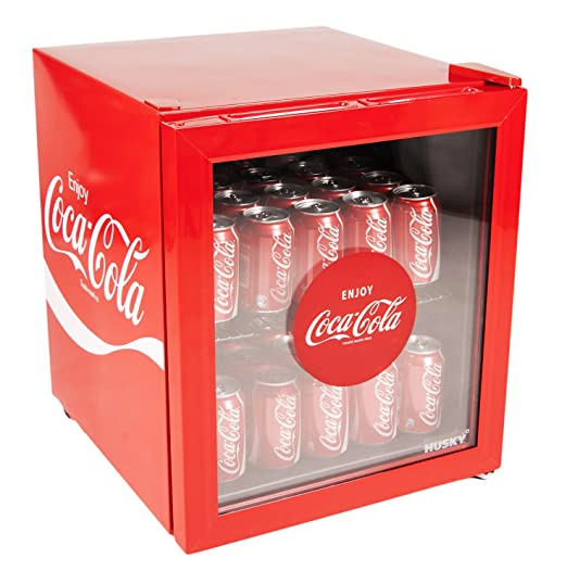 Coca Cola vidrio Mini nevera: Amazon.es: Hogar