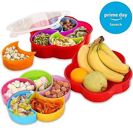 Amazon Com Appetizer Plates Snack Bowls Party Tableware Decorative