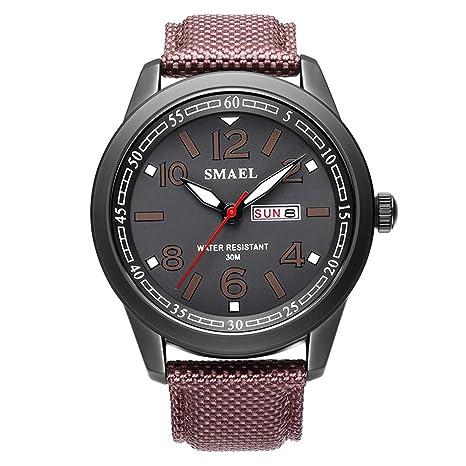 Blisfille Reloj Digital Hombre Relojes Digital de Silicona Todo Rosa Reloj Digital Fucsia Reloj para Correr