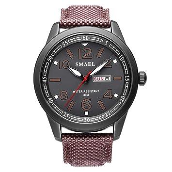 Blisfille Reloj Digital Hombre Relojes Digital de Silicona Todo Rosa Reloj Digital Fucsia Reloj para Correr Reloj Digital Rosa: Amazon.es: Deportes y aire ...