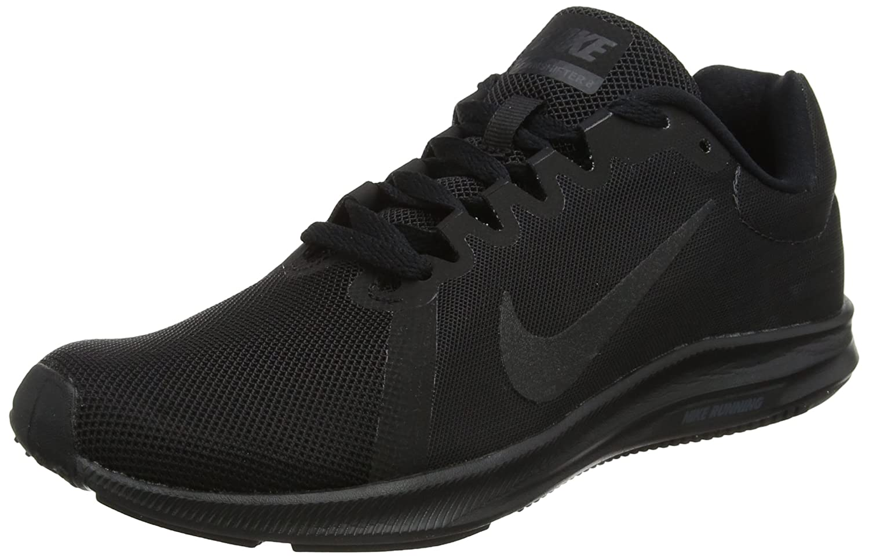 NIKE Women's Downshifter 8 Running Shoe B0761XVVD3 11.5 B(M) US|Black/Black