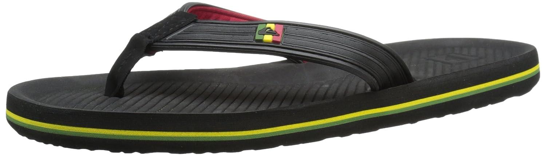 Amazon.com: Quiksilver Men's Haleiwa Deluxe 3 Point Sandal, Black/Red/Green,  13 M US: Shoes