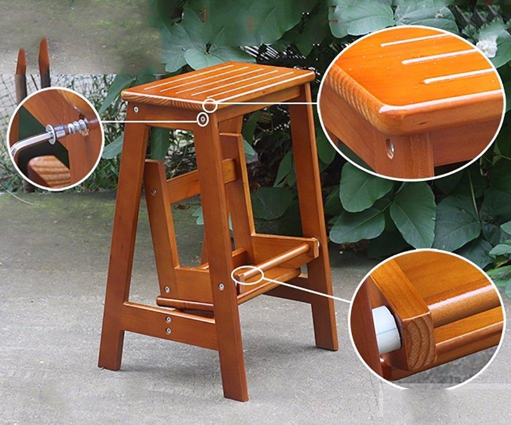 Scaletta In Legno Pieghevole : Lxjymx sedia con scala pieghevole in legno legno legno massello