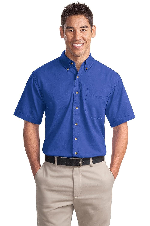 Port Authority Mens Short Sleeve Twill Shirt