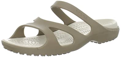 975c0f7b87be9d Crocs Womens Meleen Fashion Sandals Khaki Stucco 3 UK