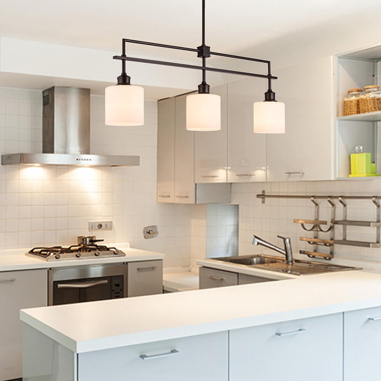 Co Z Oil Rubbed Bronze Kitchen Island Lighting 3 Light Linear