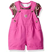 Carhartt Baby Girls' Sets, Realtree Xtra P, 3M