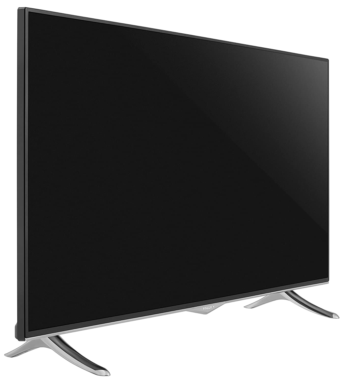 Finlux 49-FUD-8020 49 Inch Smart 4K Ultra-HD HDR LED TV with Freeview Play Black//Chrome 2019 Model