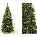 k nstlicher tannenbaum mit christbaumschmuck rot und beleuchtung h he 180cm k che. Black Bedroom Furniture Sets. Home Design Ideas